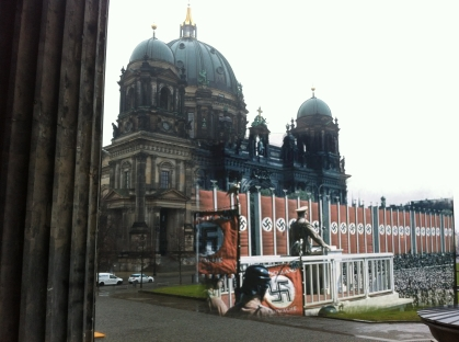 Berlin now and then  Altes Museum Hitler Speech Berliner Dom