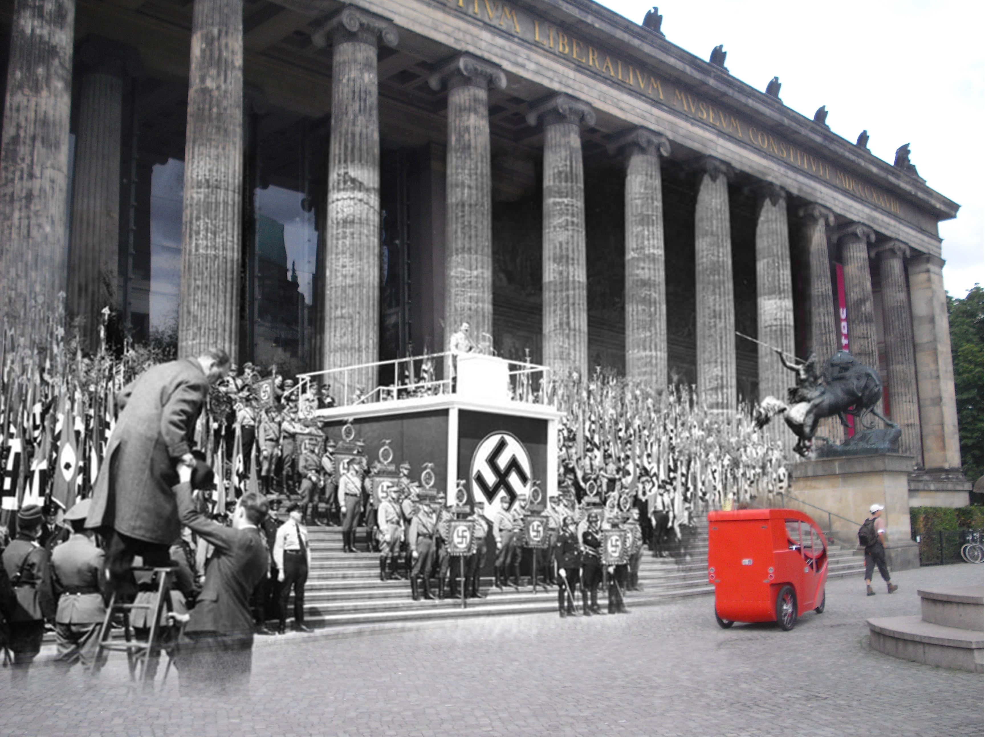 Who celebrated the birthday of Hitler in the USSR 36