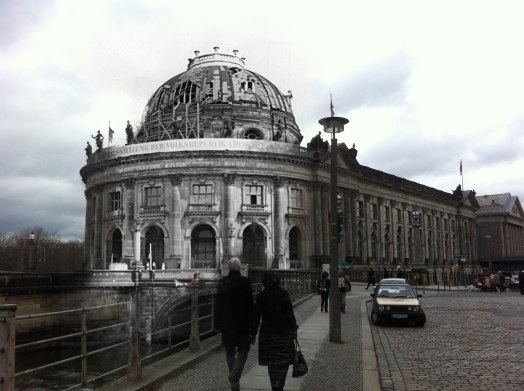 Berlin now and then  Mitte Bode Museum