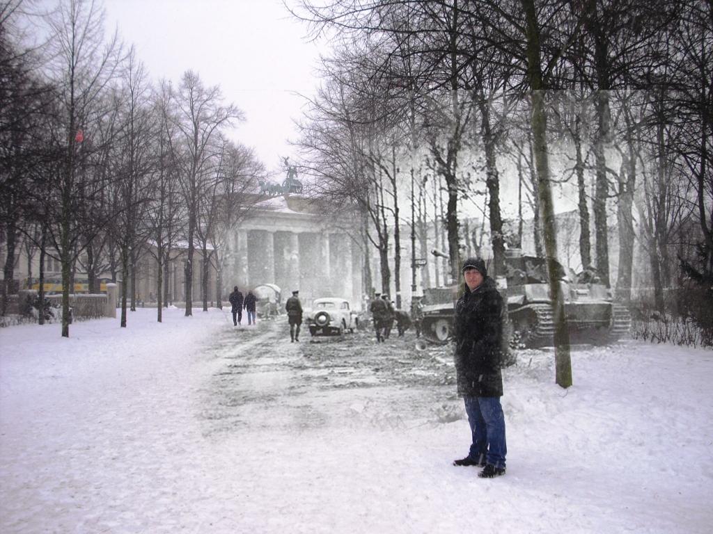 Berlin Now and Then: Brandenburg Gate vol  1 | Kitatasumi com